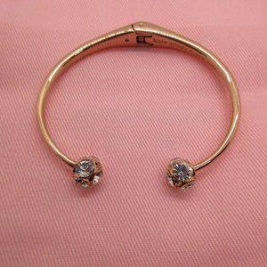 Kate Spade  Open Hinged Cuff Bracelet Rose Gold Color